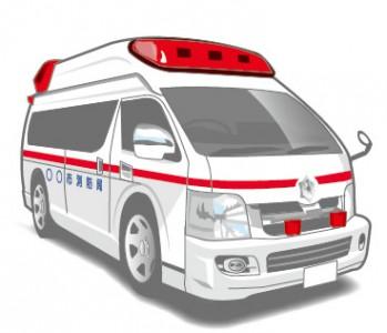 救急車イラスト