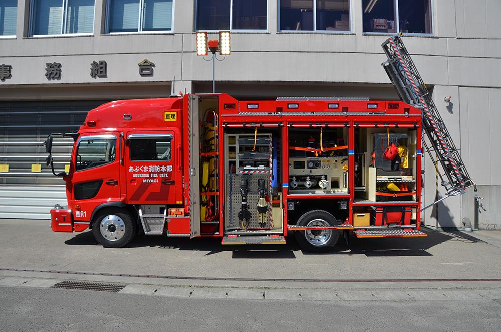 消防ポンプ付救助工作車2